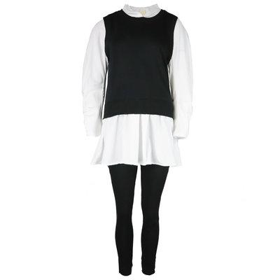 JAIMY Ashley blouse spencer comfy set black