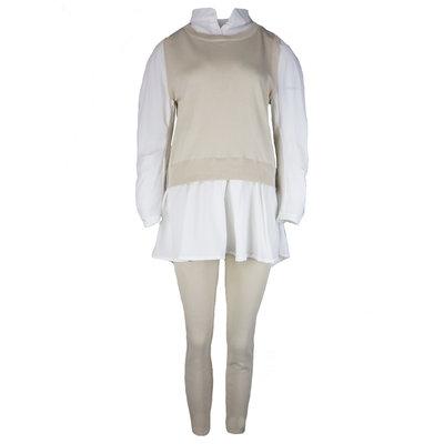 JAIMY Ashley blouse spencer comfy set beige