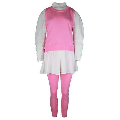 JAIMY Ashley blouse spencer comfy set pink