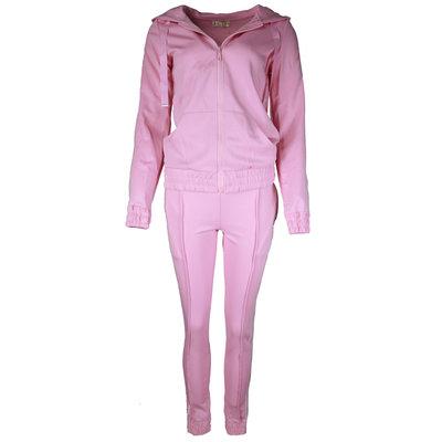 JAIMY Tracking suit sparkle stripe light pink