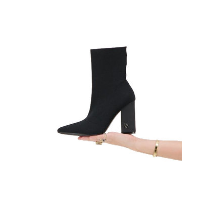 REINDERS Sock ankle boots black