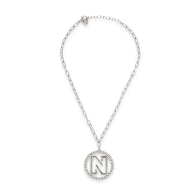 NIKKIE Benice necklace zilver