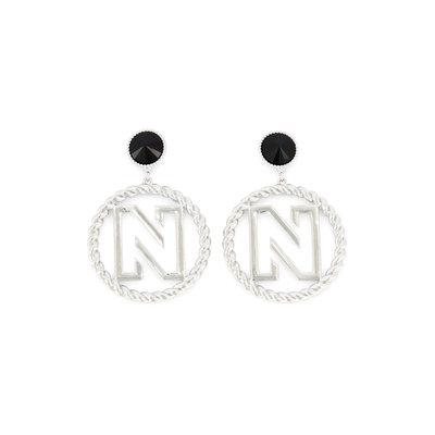 NIKKIE Benice earrings silver