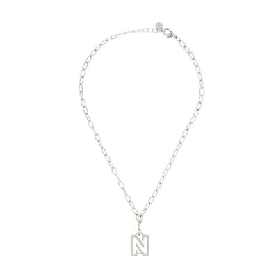 NIKKIE Brooke necklace silver