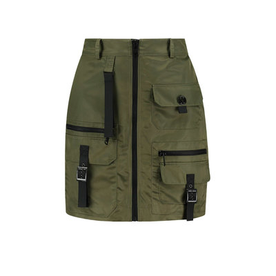 NIKKIE Nia skirt army green