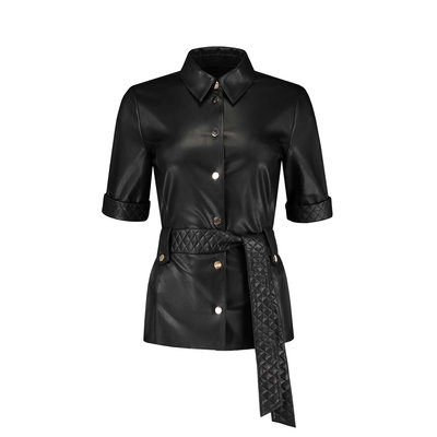 FIFTH HOUSE Mac belted blouse