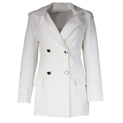 JAIMY Best basic blazer white