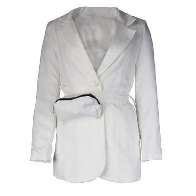 JAIMY Blazer with beltbag white