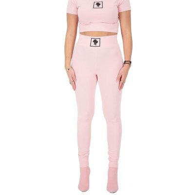 REINDERS Headlogo square legging baby pink