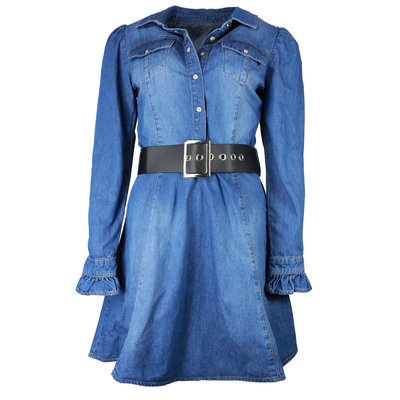 FRACOMINA Short dress stonewash