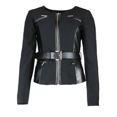 FRACOMINA Chanel jacket eco leather