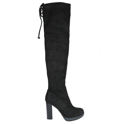JAIMY Faya overknee boots black