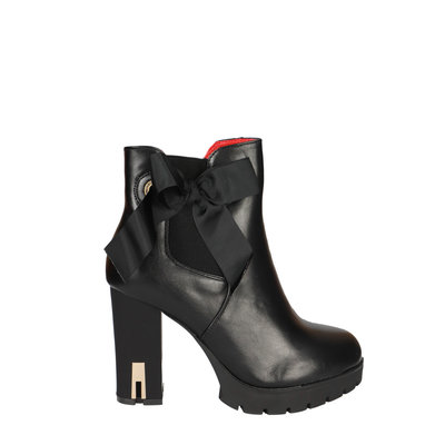 JAIMY Stacey bow boots black