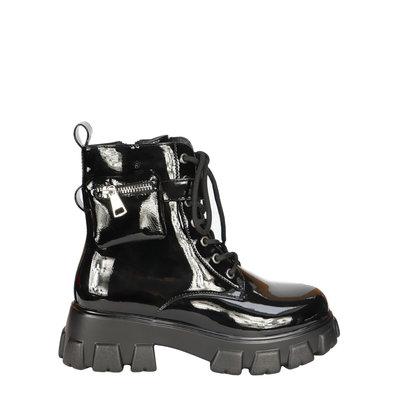 JAIMY Juul combat boots shine