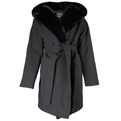 JAIMY Zoey wool coat black