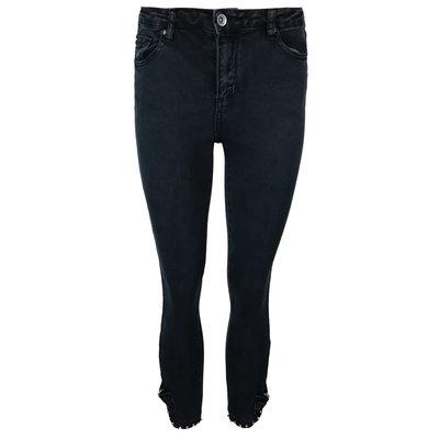 JAIMY Diamond bow detail jeans black