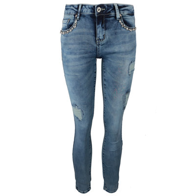 JAIMY Felin diamond jeans