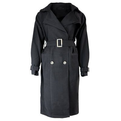 JAIMY Cara trench coat black