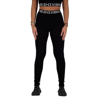 REINDERS Twin set pants entarsia black