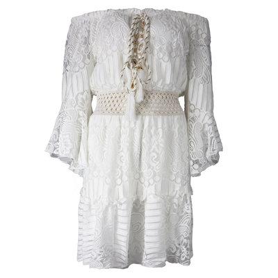 JAIMY Dress ibiza feelings white