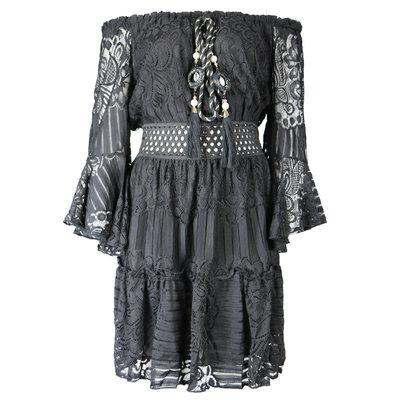 JAIMY Dress ibiza feelings black