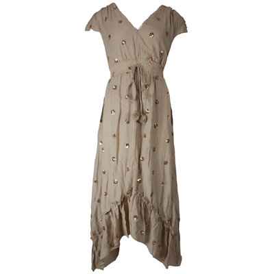 JAIMY This Ibiza dress is everything taupe