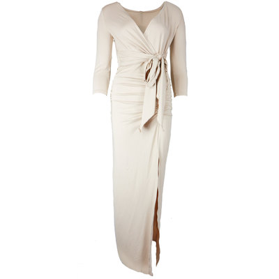 JAIMY Maxi travel dress beige