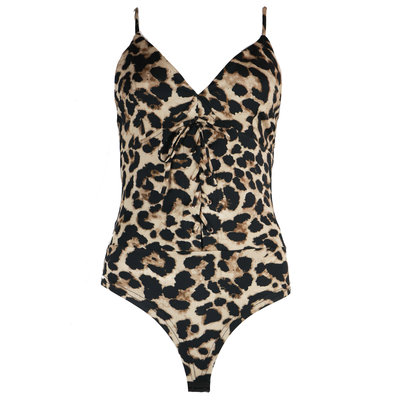 JAIMY Lace up travel body leopard