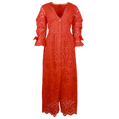 FRACOMINA Long dress red