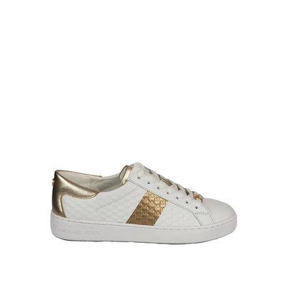 MICHAEL KORS Colby sneaker white/gold
