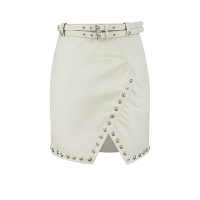 NIKKIE Madita skirt star white
