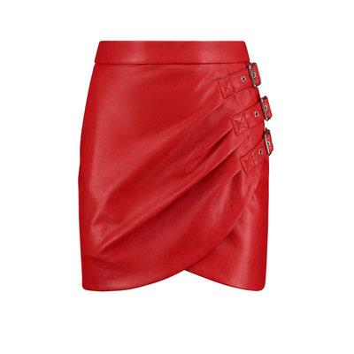 NIKKIE Ellis skirt red