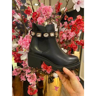 JAIMY Diamond strap boots