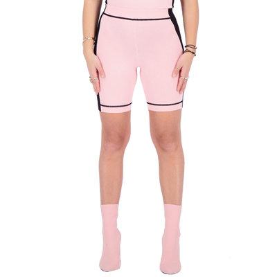REINDERS Harley biker short knitwear baby pink