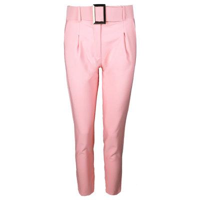 JAIMY Pantalon pants with belt pink
