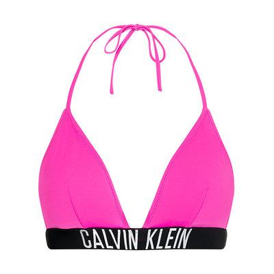 CALVIN KLEIN Triangle bikini top stunning orchid