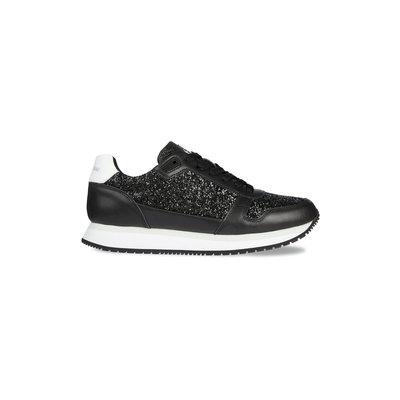 CALVIN KLEIN Sparkle runner sneaker black