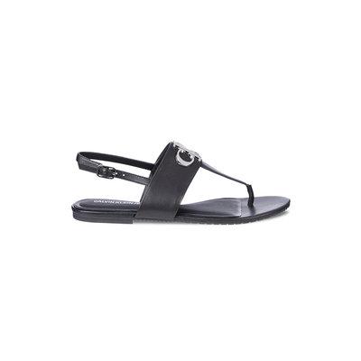 CALVIN KLEIN Flat sandal black