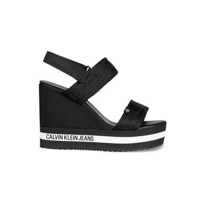 CALVIN KLEIN Wedge sandal black