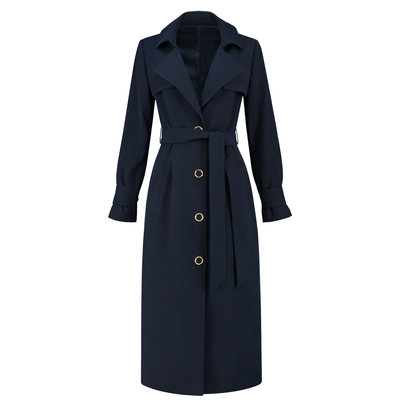 FIFTH HOUSE Louis coat midnight blue
