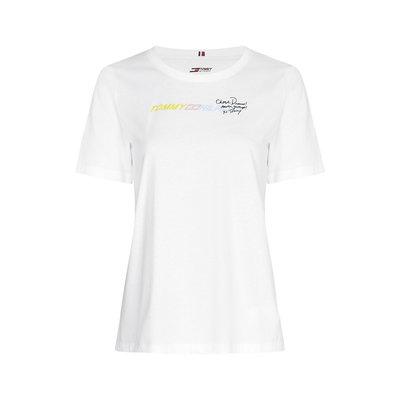 TOMMY HILFIGER Cool organic cotton t-shirt optic white