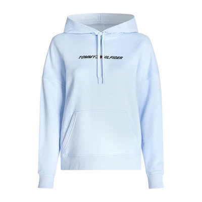 TOMMY HILFIGER Cool relaxed fit hoody sweet blue