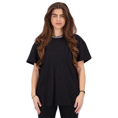 REINDERS T-shirt open back black