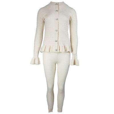 JAIMY Queenie lounge wear set beige