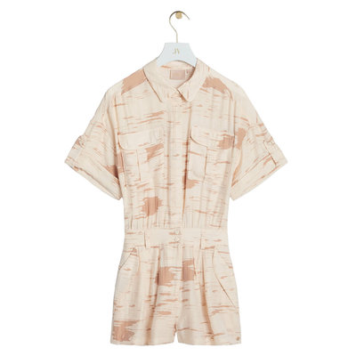 JOSH V Lua playsuit cream nougat