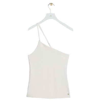 JOSH V Mori top whisper white
