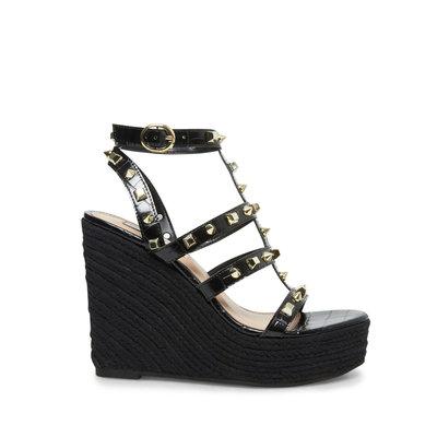 STEVE MADDEN Sallina wedge heel black