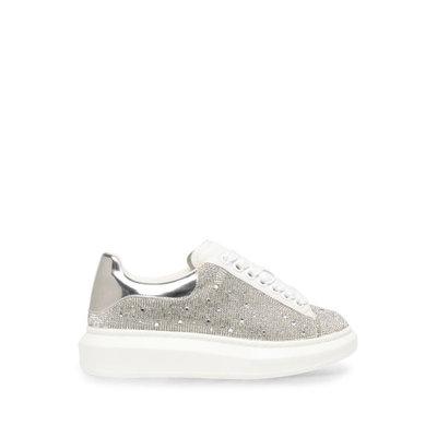 STEVE MADDEN Glimmer rhinestone sneakers