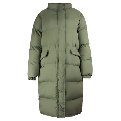 JAIMY Blogger musthave puffer coat army green