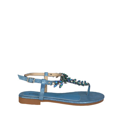 JAIMY Felice diamond sandal blue